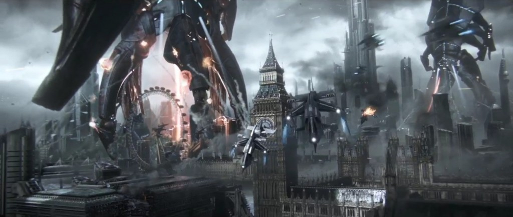 Mass Effect 3 Teaser Capture, Reaper attack on London